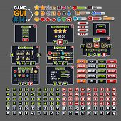 Video Game GUI #14 for creating video games poster