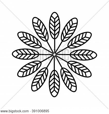 American Symbol Indigenous Ethnic Arrows Signs Texture.