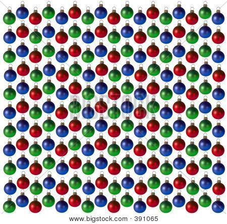 Christmas Bulb Background