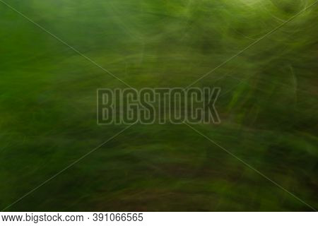 Beautiful Abstract Green  Blurred Nature Background Wallpaper