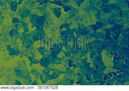 Watercolor Marine Camo. Navy Military Texture. Camouflage Wallpaper. Abstract Fashion Design. Marine