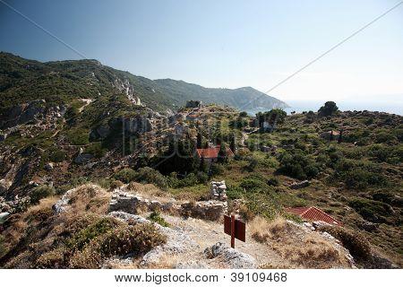 Ruins Of Kastro, Skiathos