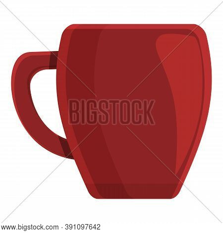 Cozy Home Ceramic Mug Icon. Cartoon Of Cozy Home Ceramic Mug Vector Icon For Web Design Isolated On