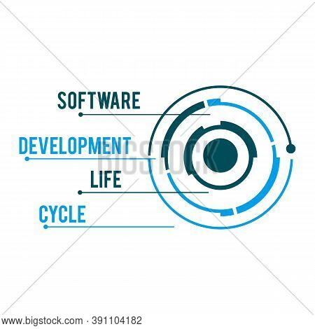 Software Development Life Cycle Vector Illustration, Vector Design