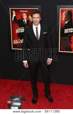 NEW YORK-NOV 18: Actor James D'Arcy attends the premiere of