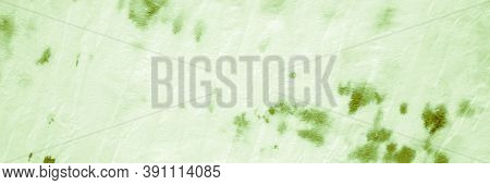 Watercolor Paint Blots. Green Grassy Acrylic Print. Wrinkled Craft Surface. Watercolor Abstract Text