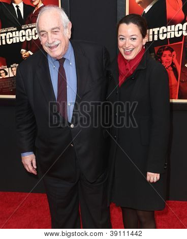 NEW YORK-NOV 18: Producer Tom Pollock and guest attend the premiere of