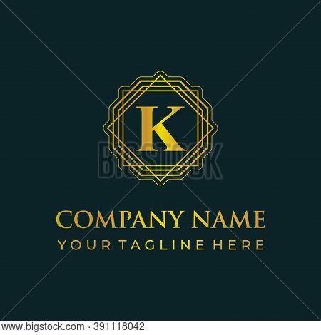 K Logo, K Design Logo, K Initial Logo, K Monogram Logo, K Luxury Logo, K Logo, K Creative Logo, K In