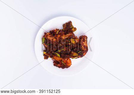 The Top Angle Of Sambal Petai Udang (shrimp Petai Sauce) Is A Typical Asian Cuisine Food. Food Made