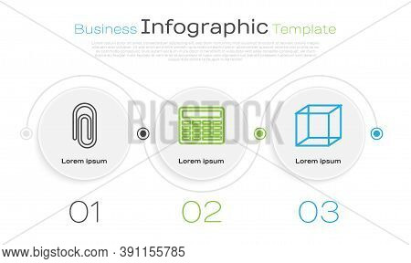 Set Line Book With Word Mathematics, Chalkboard And Function Mathematical Symbol. Business Infograph