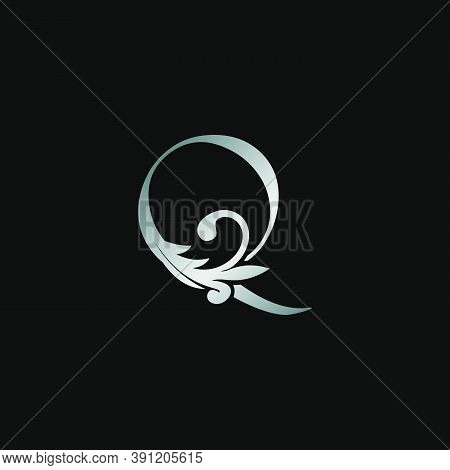 Classy Design Letter Q Logo Icon, Vector Design Can Use Monogram Sign Symbol.