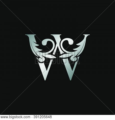 Classy Design Letter W Logo Icon, Vector Design Can Use Monogram Sign Symbol.