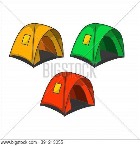 Tent. Tent Vector. Tent Illustration. Camping Tent Icon. Tent Sign For Icon Or Logo. Camping Tent Ve