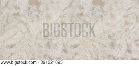 Banner For Web Quartz Surface White For Bathroom Or Kitchen Countertop. High Resolution Texture And