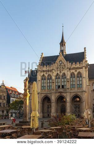 Town Hall Of Erfurt, Germany