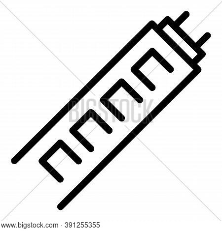 Power Led Stripe Icon. Outline Power Led Stripe Vector Icon For Web Design Isolated On White Backgro