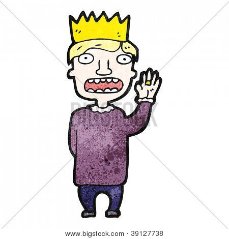 Cartoon Prince Vector Photo Free Trial Bigstock