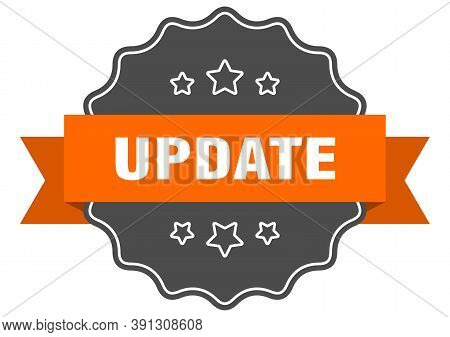 Update Isolated Seal. Update Orange Label. Update
