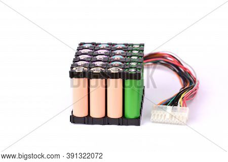 Li Ion Battery And Series 18650 Battery Holder.