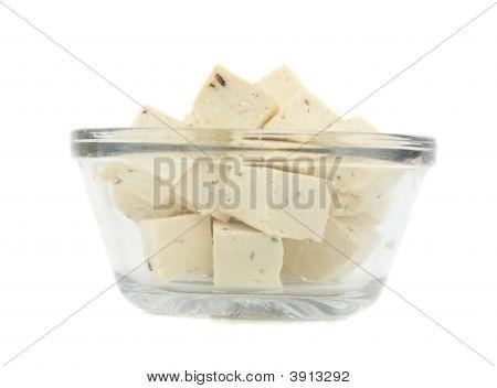 Cube Of Fresh Tofu