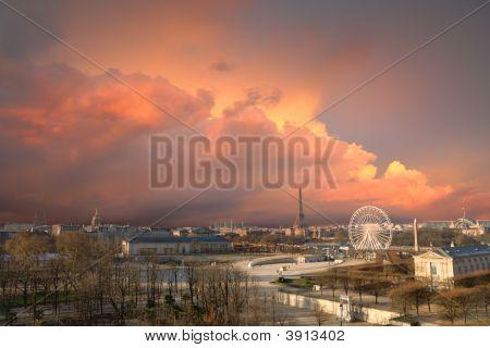 Parisian Skyscape