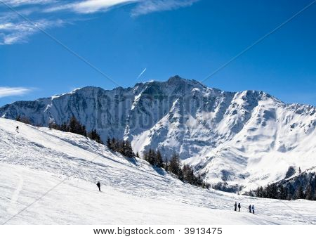 Ski Resort Les Arcs France