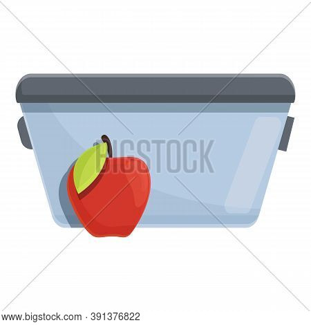Farm Lunch Icon. Cartoon Of Farm Lunch Vector Icon For Web Design Isolated On White Background