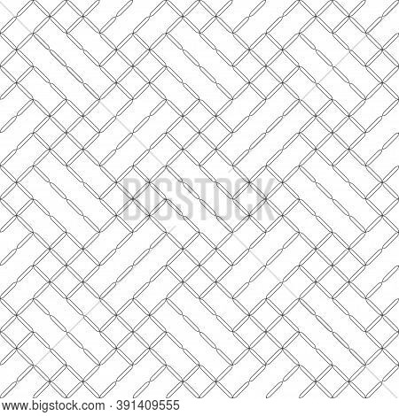 Seamless Pattern. Modern Stylish Texture. Regularly Repeating Geometrical Tiles With Rhombuses, Diam