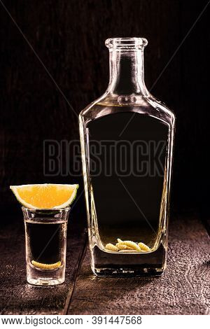 Mezcal (or Mescal) Is An Exotic Distilled Alcoholic Drink, Produced From The Fermented Juice Of The