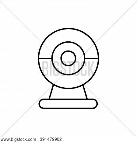Webcam Technology Single Isolated Icon With Line Or Outline Style