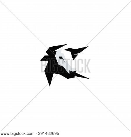 Vector Of Cow Head. Cow Icon Vector. Cow Icon Black On White Background. Cow Icon Simple And Modern