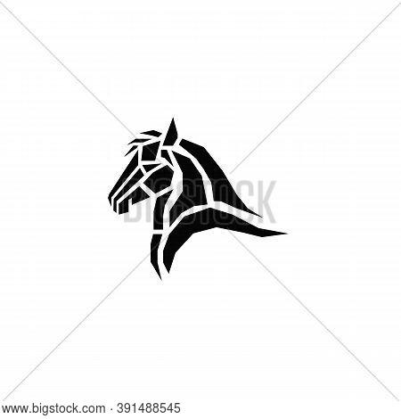 Horse Head Vector. Horse Icon. Horse Symbol. Horse Logo. Horse Logo Eps 10. Horse Emblem. Horse Badg