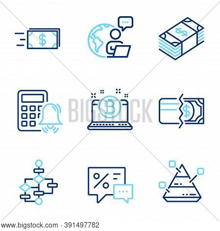 Finance Icons Set. Included Icon As Pyramid Chart, Usd Currency, Money Transfer Signs. Payment Metho