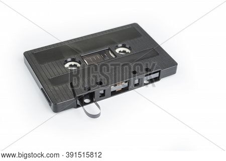 Retro Magnetic Tape On A White Background