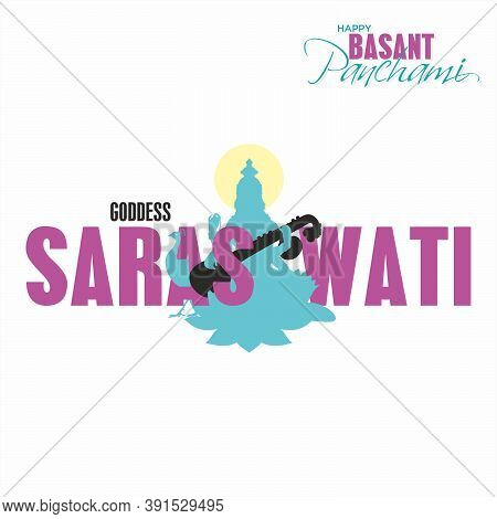 Happy Basant Panchami Banner - Indian Festival