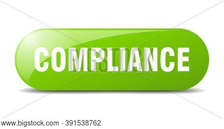 Compliance Button. Compliance Sign. Key. Push Button.