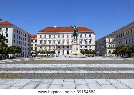 Kurf�rst Maximilian statue in Munich in Germanyany