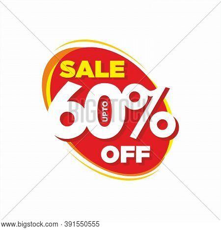 Sale Upto 60% Off - Business Promotion Banner Design
