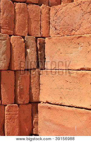 Adobe Brick Pile