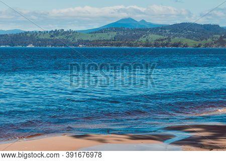 Wild And Rugged Verona Sands Beach In South East Tasmania In Australia