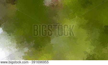 Digital Abstract Liquid Brush Spatter Stock Background