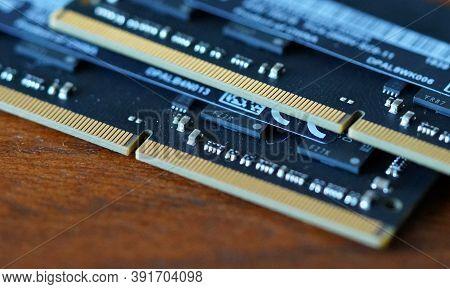 Computer Memory Ram Random Access Memory Microchip