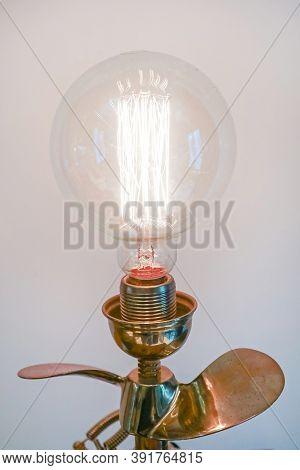 Antique Edison Light Bulb Vintage Carbon Tungsten Filament