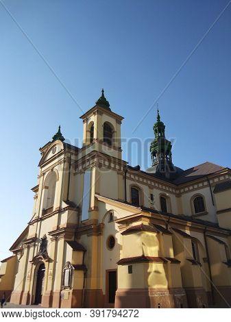 Roman Catholic Cathedral, Church Of Virgin Mary, Ivano-frankivsk, Ukraine