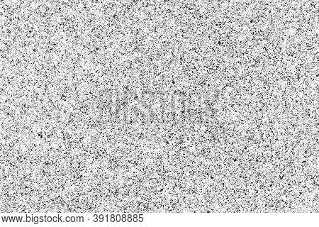 Grunge Distressed Splatter Background. Spray Paint Drops. Black Ink Splashes Texture. White Paper Wi