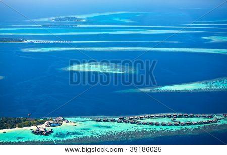 Blue Infinity (atolls of Maldives)