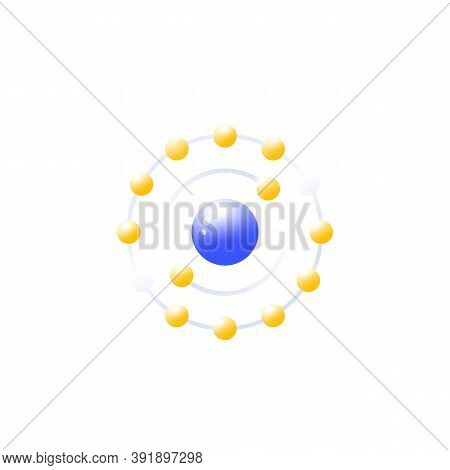 Antioxidant Icon, Vector Illustration On White, Eps 10 File, Easy To Edit