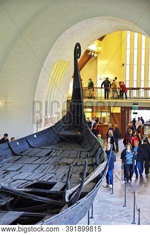 Oslo, Norway - 24 Jun 2012: Viking Ship Museum In Oslo, Norway