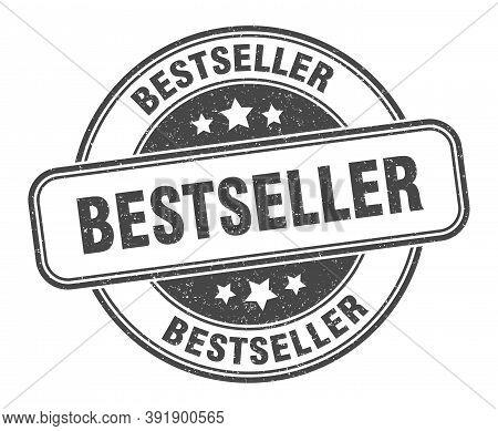 Bestseller Stamp. Bestseller Round Grunge Sign. Label