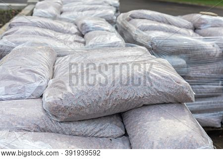 Big Bunch Of Sacks Heavy Material Delivery